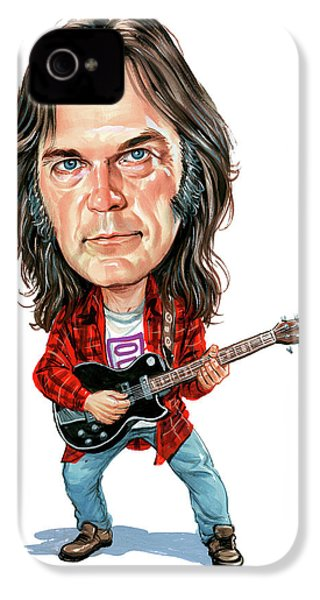 Neil Young IPhone 4s Case by Art