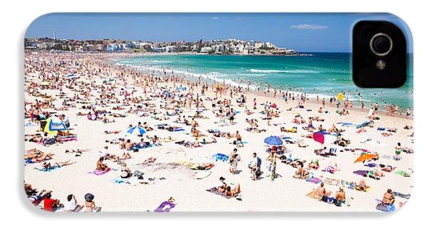 New Year's Day At Bondi Beach Sydney Australi IPhone 4s Case by Matteo Colombo