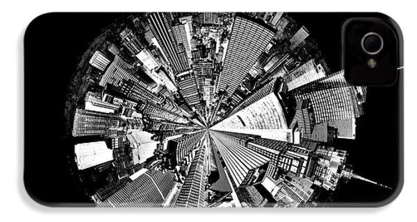 New York 2 Circagraph IPhone 4s Case by Az Jackson
