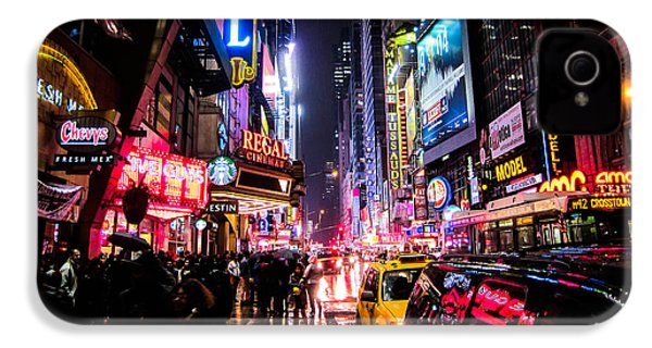 New York City Night IPhone 4s Case by Nicklas Gustafsson