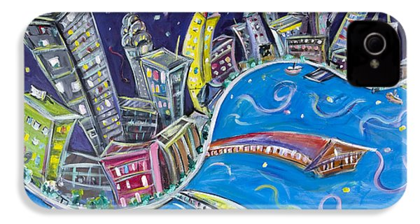 New York City Nights IPhone 4s Case by Jason Gluskin