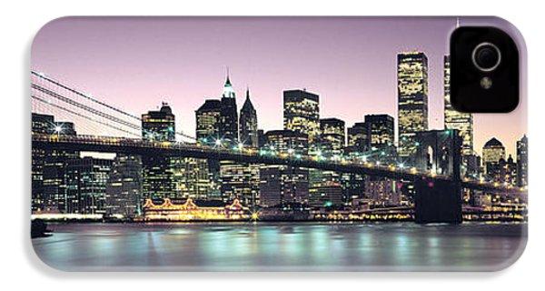 New York City Skyline IPhone 4s Case by Jon Neidert