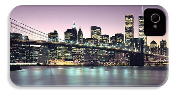 New York City Skyline IPhone 4s Case by Jon Neidert