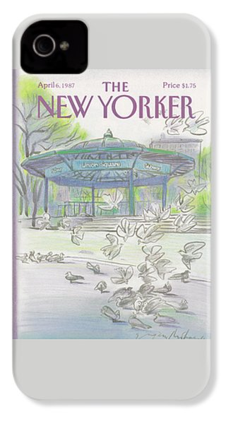 New Yorker April 6th, 1987 IPhone 4s Case