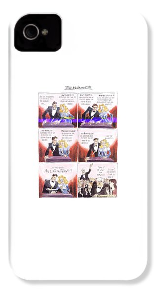 New Yorker March 24th, 1997 IPhone 4s Case by Edward Sorel