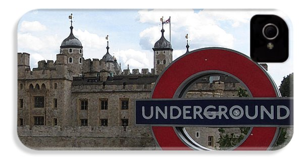 Next Stop Tower Of London IPhone 4s Case by Jenny Armitage