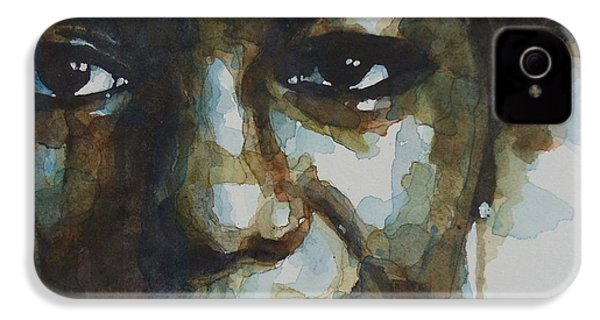 Nina Simone IPhone 4s Case by Paul Lovering