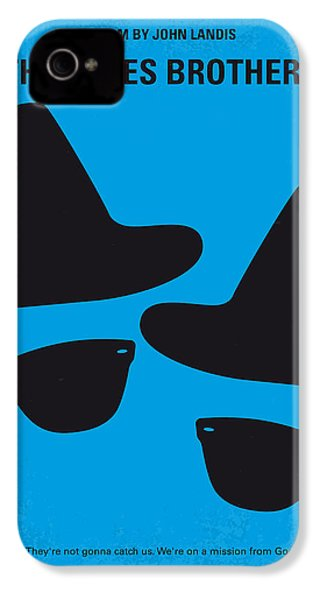 No012 My Blues Brother Minimal Movie Poster IPhone 4s Case