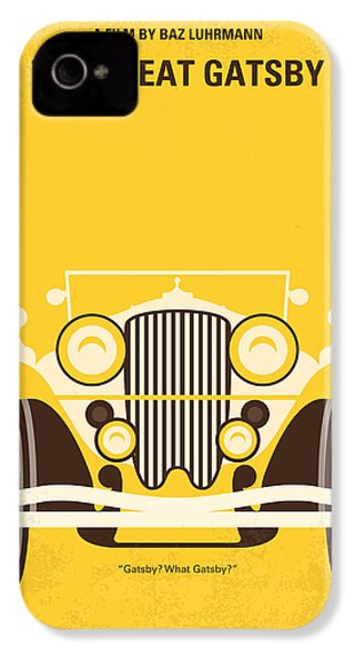 No206 My The Great Gatsby Minimal Movie Poster IPhone 4s Case
