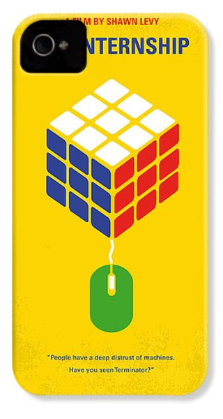 No215 My The Internship Minimal Movie Poster IPhone 4s Case by Chungkong Art