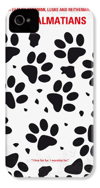 No229 My 101 Dalmatians Minimal Movie Poster IPhone 4s Case by Chungkong Art
