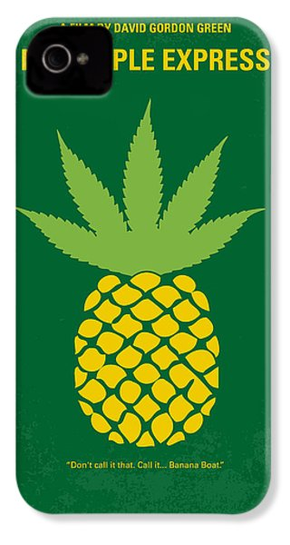 No264 My Pineapple Express Minimal Movie Poster IPhone 4s Case