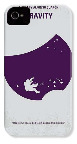No269 My Gravity Minimal Movie Poster IPhone 4s Case by Chungkong Art