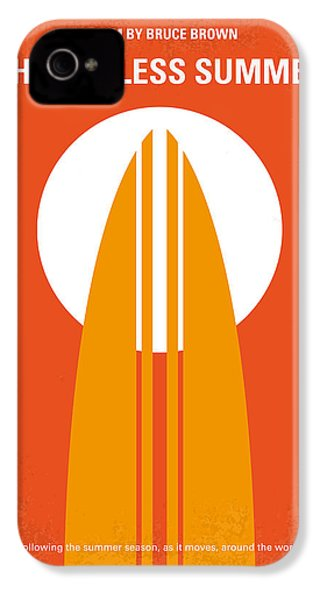 No274 My The Endless Summer Minimal Movie Poster IPhone 4s Case