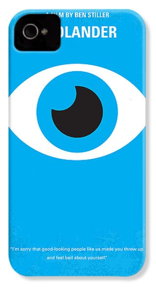No362 My Zoolander Minimal Movie Poster IPhone 4s Case by Chungkong Art