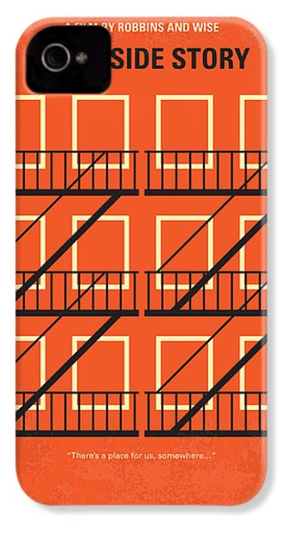 No387 My West Side Story Minimal Movie Poster IPhone 4s Case by Chungkong Art