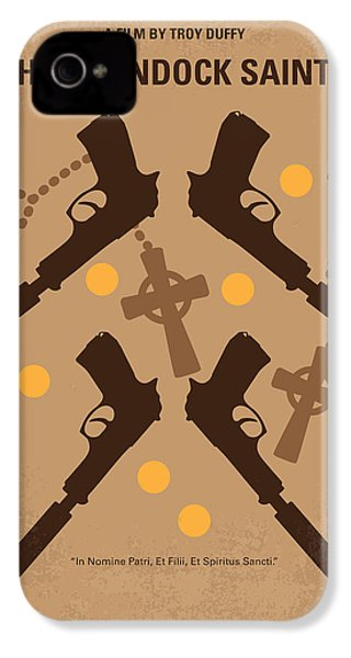 No419 My Boondock Saints Minimal Movie Poster IPhone 4s Case