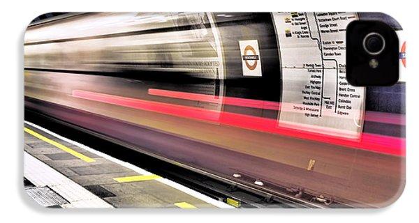 Northbound Underground IPhone 4s Case by Rona Black