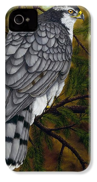 Northern Goshawk IPhone 4s Case by Rick Bainbridge