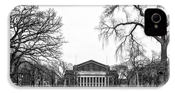 Northrop Auditorium At The University Of Minnesota IPhone 4s Case by Tom Gort