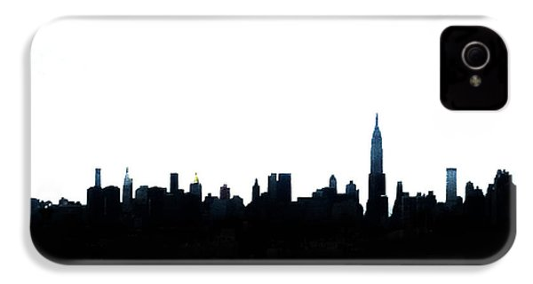 Nyc Silhouette IPhone 4s Case by Natasha Marco