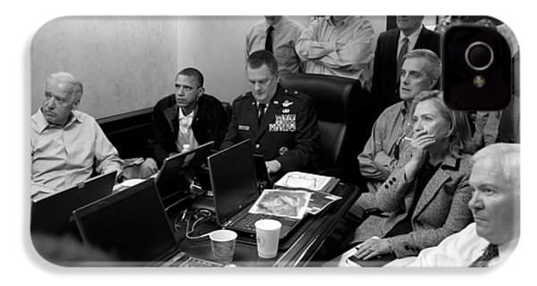 Obama In White House Situation Room IPhone 4s Case