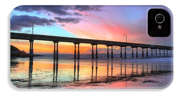 Ocean Beach Sunset IPhone 4s Case by Nathan Rupert