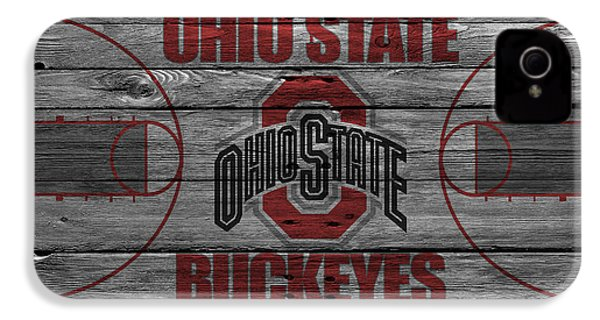 Ohio State Buckeyes IPhone 4s Case by Joe Hamilton