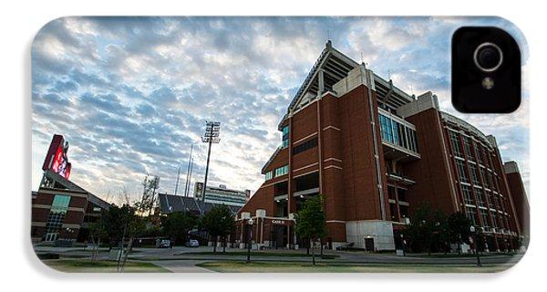 Oklahoma Memorial Stadium IPhone 4s Case by Nathan Hillis