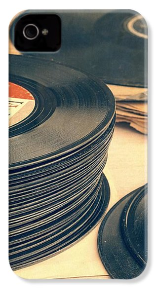 Old 45s IPhone 4s Case