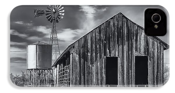 Old Barn No Wind IPhone 4s Case by Mark Myhaver