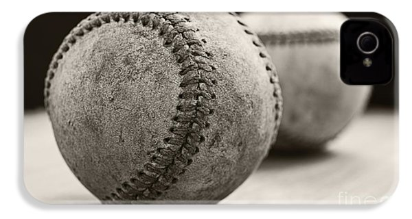 Old Baseballs IPhone 4s Case by Edward Fielding