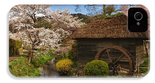Old Cherry Blossom Water Mill IPhone 4s Case
