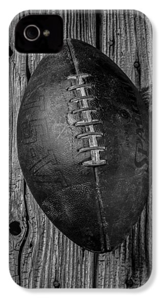 Old Football IPhone 4s Case by Garry Gay