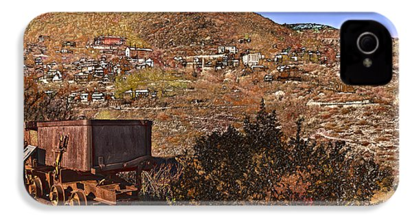 Old Mining Town No.24 IPhone 4s Case by Mark Myhaver