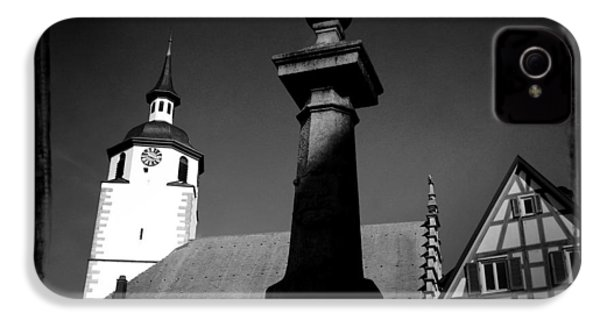 Old Town Waldenbuch In Germany IPhone 4s Case by Matthias Hauser