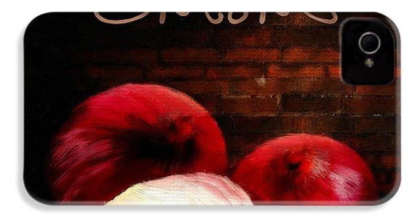 Onions II IPhone 4s Case by Lourry Legarde