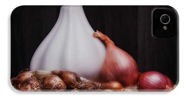 Onions IPhone 4s Case by Tom Mc Nemar