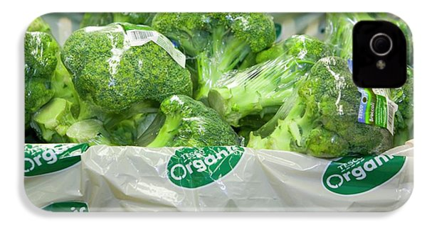 Organic Broccoli For Sale IPhone 4s Case by Ashley Cooper