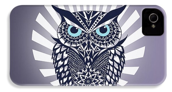Owl IPhone 4s Case by Mark Ashkenazi