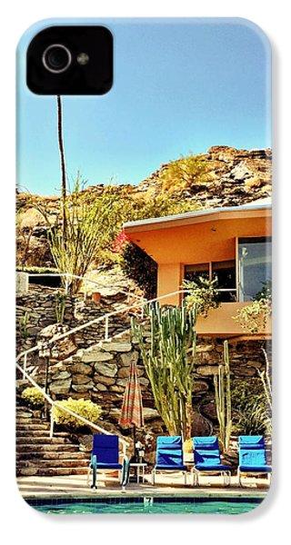 Palm Springs Pool IPhone 4s Case by Julie Gebhardt