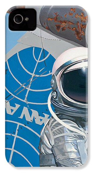 IPhone 4s Case featuring the painting Pan Am by Scott Listfield