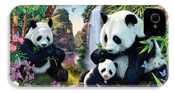 Panda Valley IPhone 4s Case by Steve Read