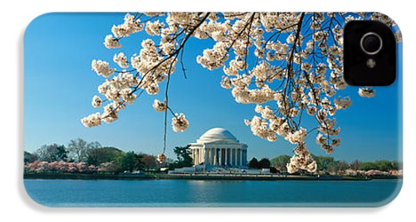 Panoramic View Of Jefferson Memorial IPhone 4s Case by Panoramic Images