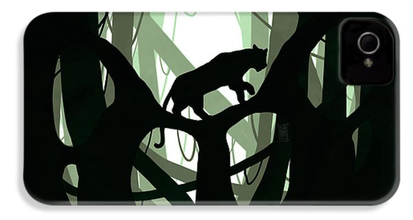 Panther Paw IPhone 4s Case by Daniel Hapi