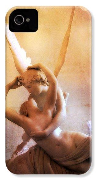 Paris Eros And Psyche Louvre Museum- Musee Du Louvre Angel Sculpture - Paris Angel Art Sculptures IPhone 4s Case
