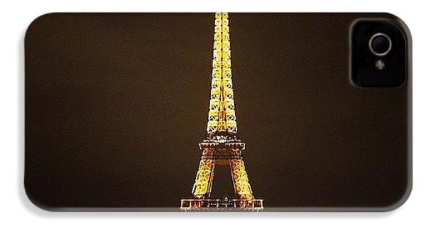 #paris #france #night #lights IPhone 4s Case