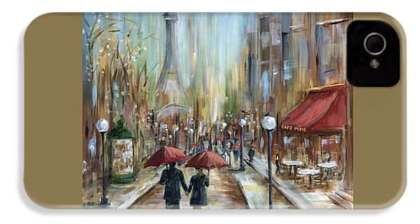 Paris Lovers Ill IPhone 4s Case by Marilyn Dunlap