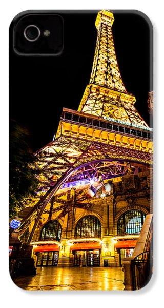 Paris Under The Tower IPhone 4s Case by Az Jackson
