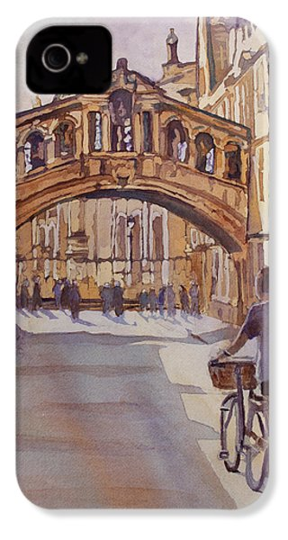Pausing Before The Bridge IPhone 4s Case by Jenny Armitage
